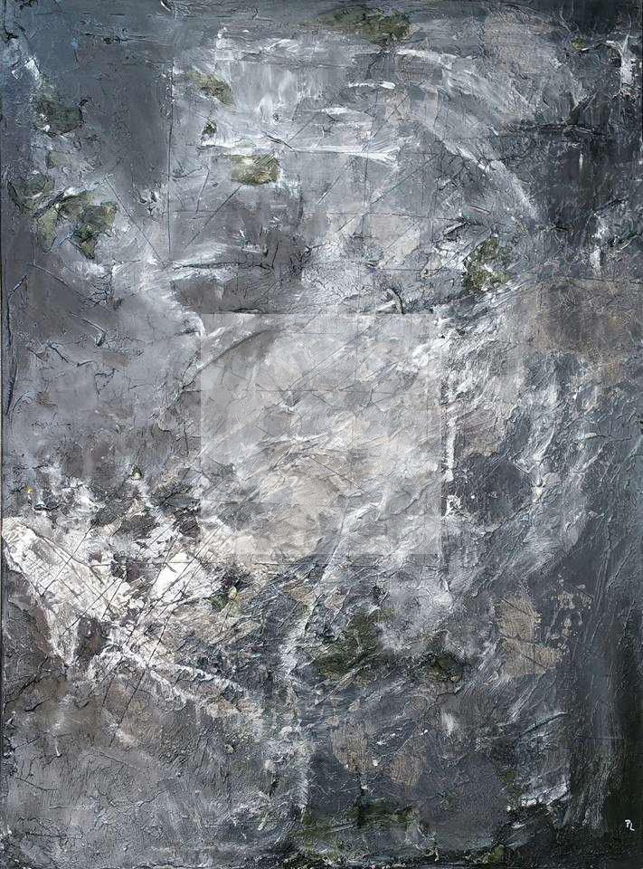 Peinture 50 NUANCES DE GREY du peintre PATRICIA LANGLET sur Exposition Peinture