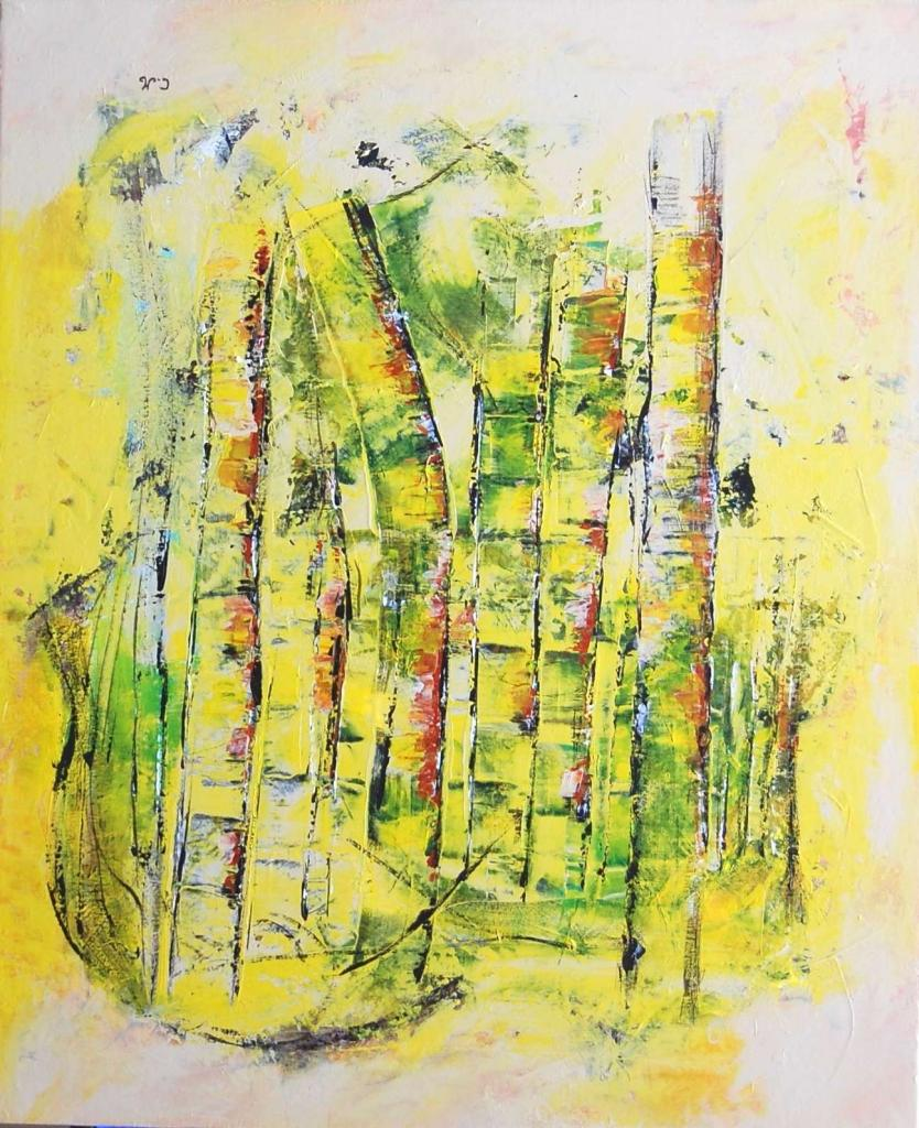 "Abstrait ""Arbres 2"""