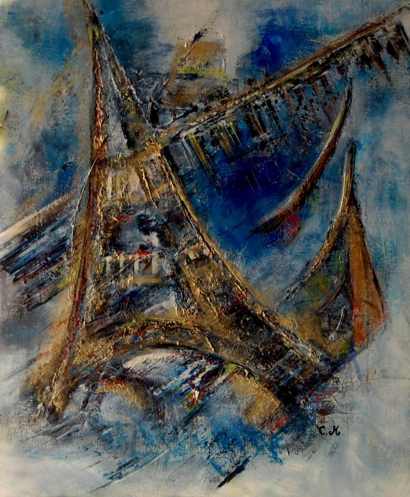 Abstrait Tour Eiffel