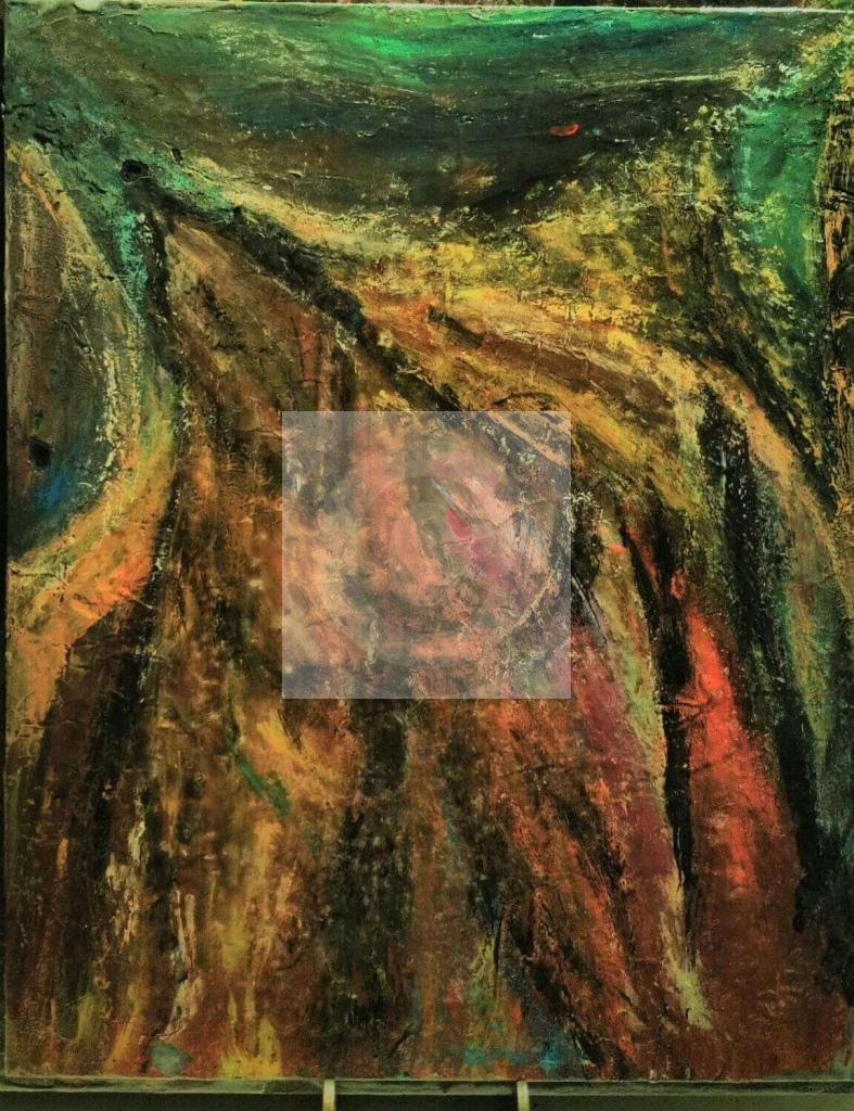 Peinture Amour Fusionnel Du Peintre Creationrp Sur