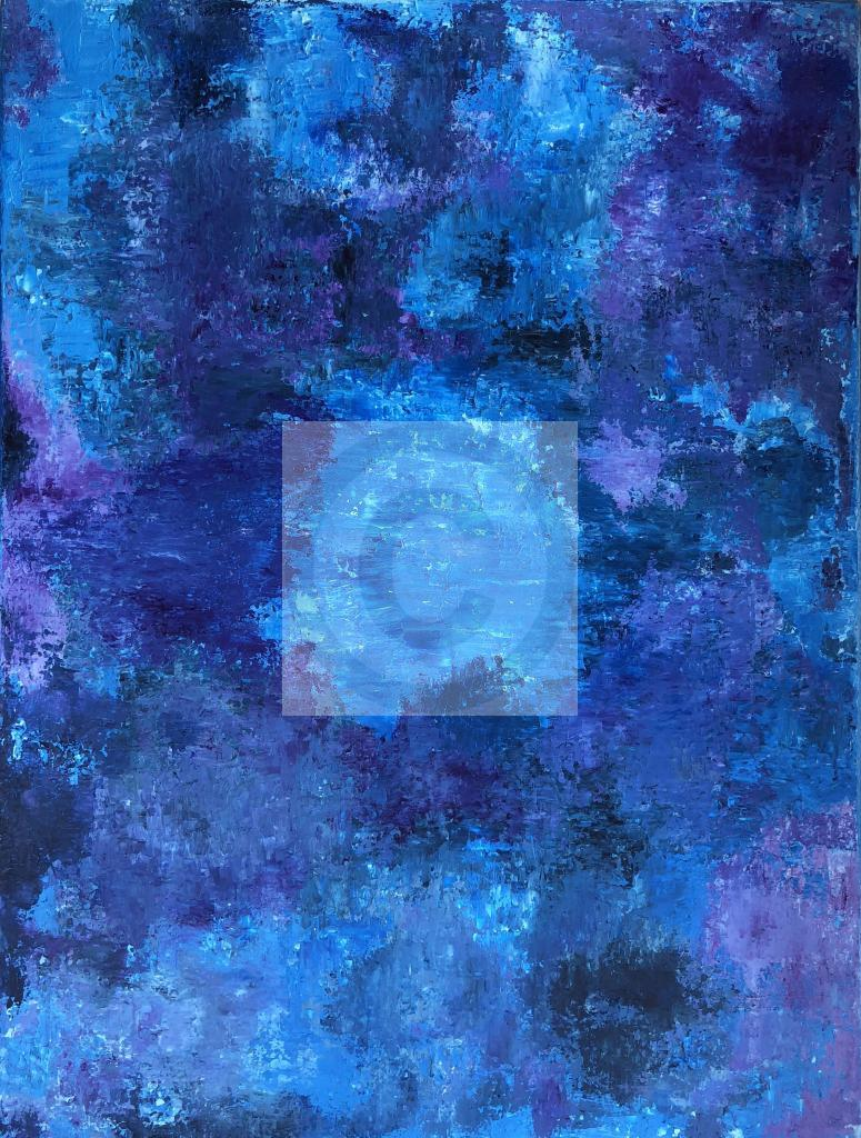 Peinture Blue dimension