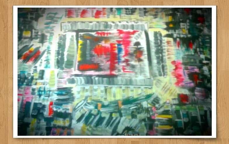 Peinture fen tre dans le n ant exposition peinture for Buer dans les fenetre