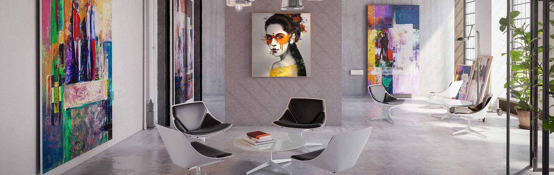 Galerie art contemporain en ligne