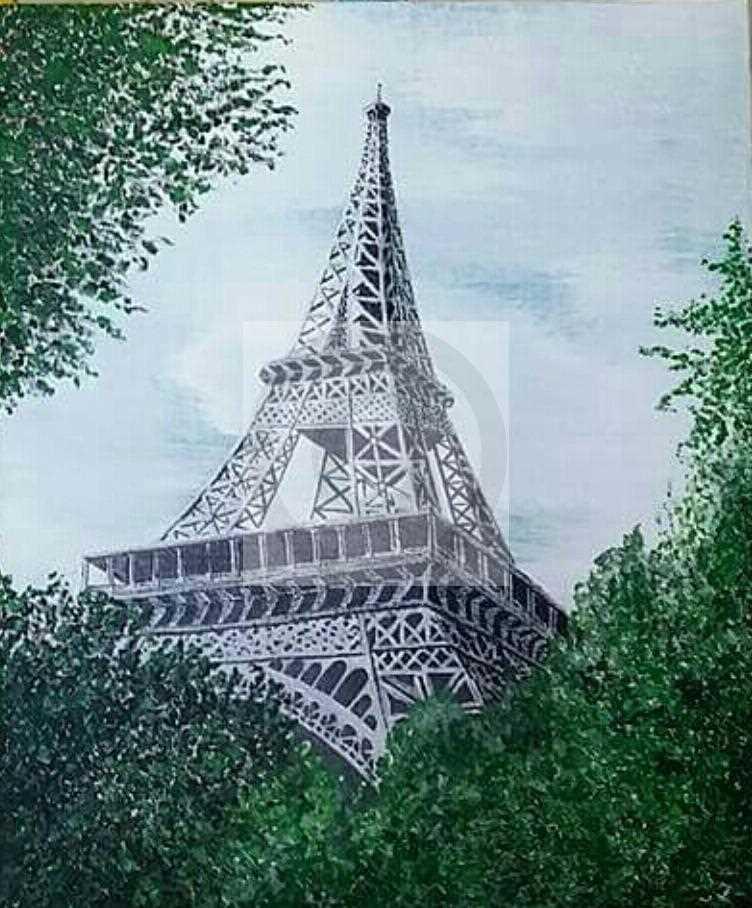 Carte virtuelle Sous le ciel de Paris