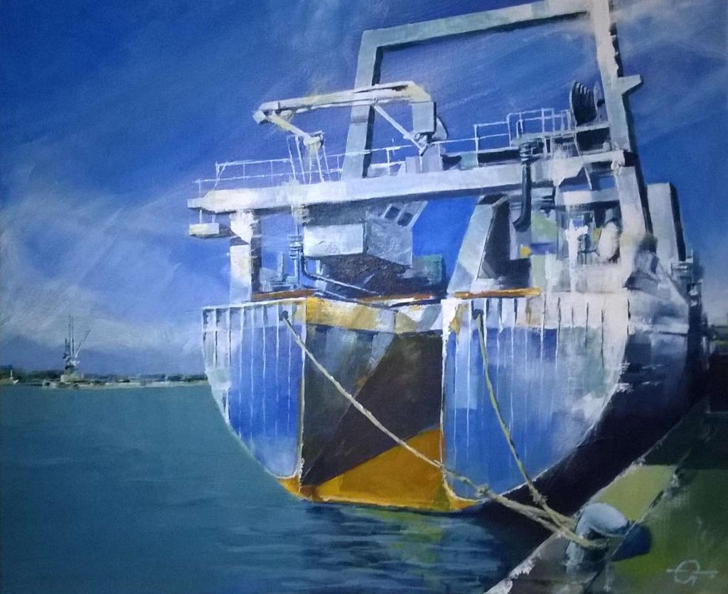Carte virtuelle cargo bleu