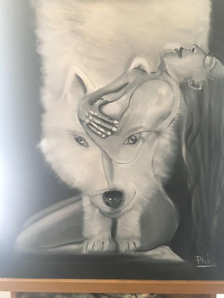 Carte virtuelle Voir le loup