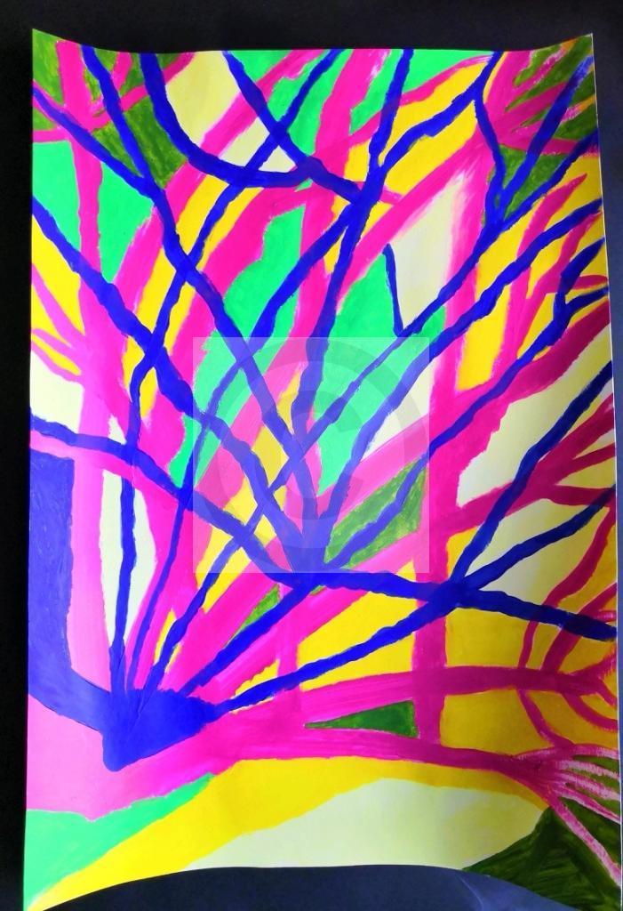 Carte virtuelle Abstrait 3
