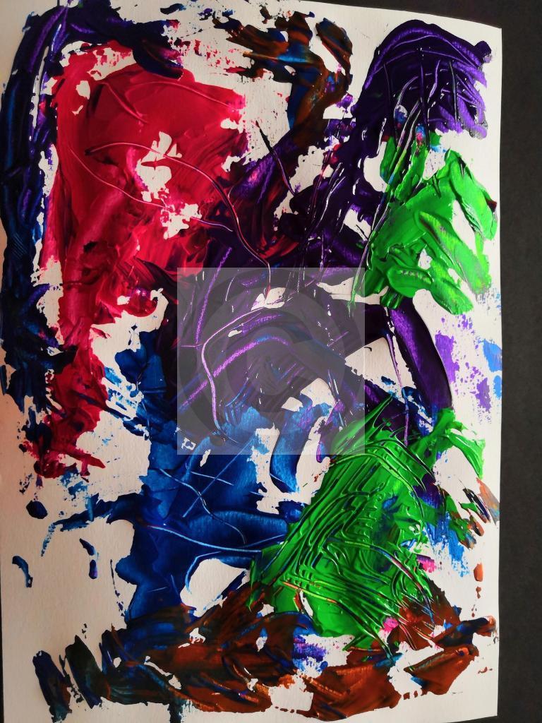 Carte virtuelle Abstrait 7