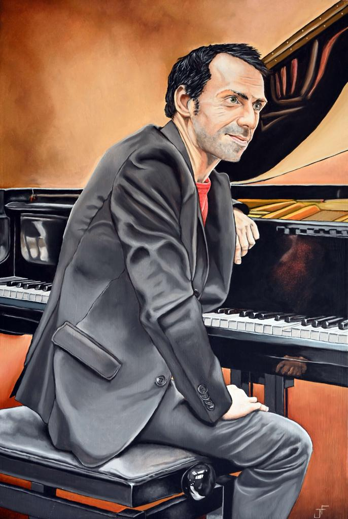 Carte virtuelle Le pianiste
