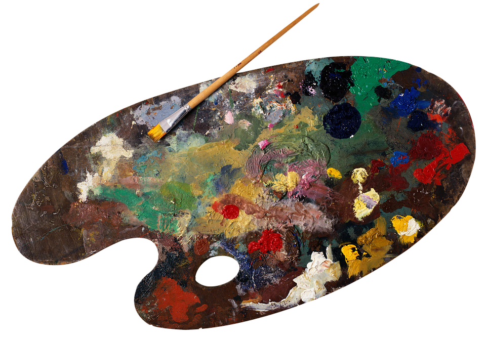 Palette de peinture