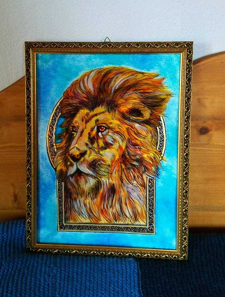 Peinture Magic Lion
