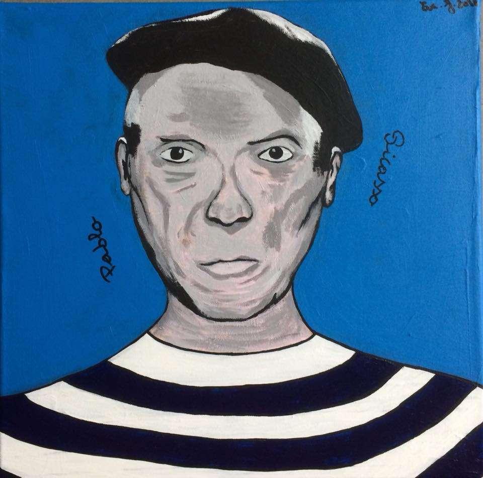 Peinture Pablo Picasso Du Peintre Evej Sur Exposition Peinture