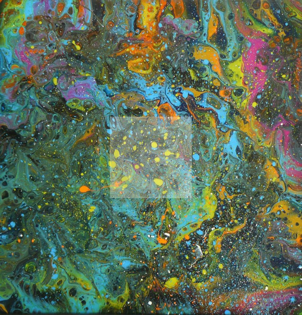 "Peinture ""Pich' magic abstract art 103"""