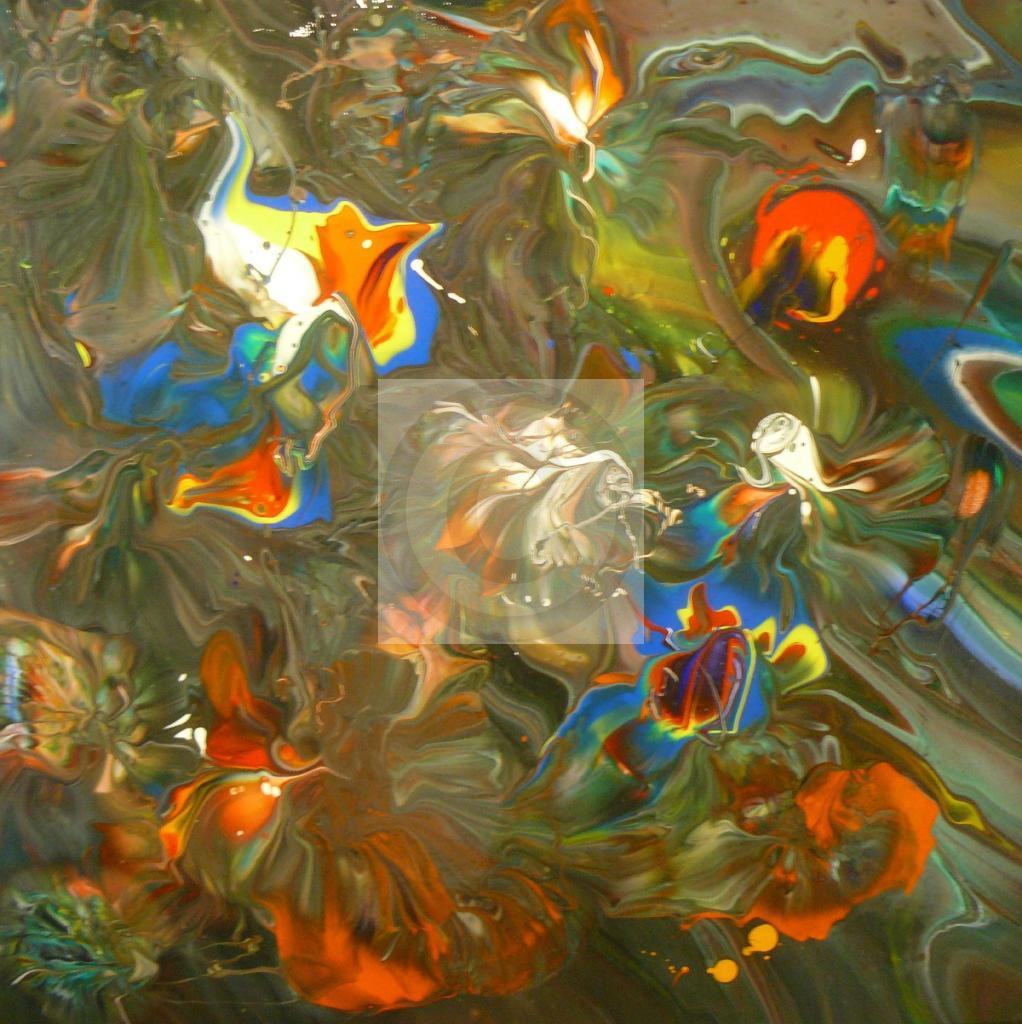 "Peinture ""Pich ' magic abstract art 108"""