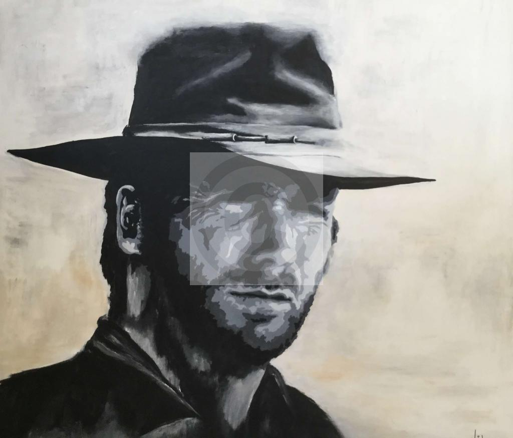 Portrait Clint Eastwood