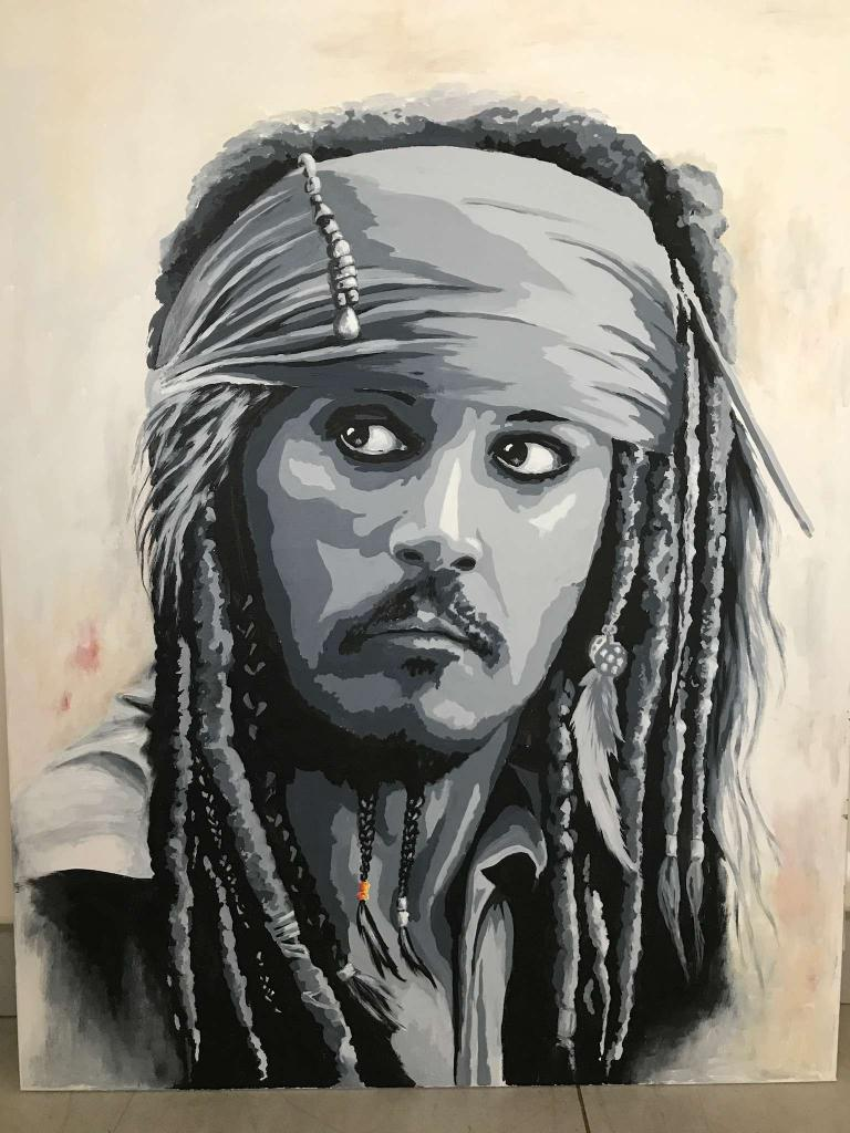 Portrait Johnny deep
