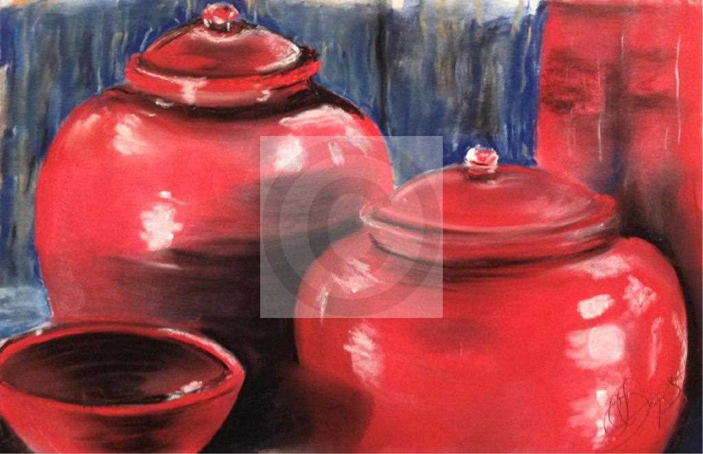 Pots rouges