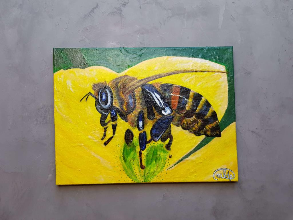 Peinture Save the Bees