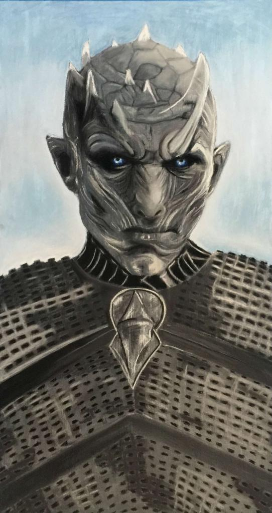 "Peinture ""The night king"""