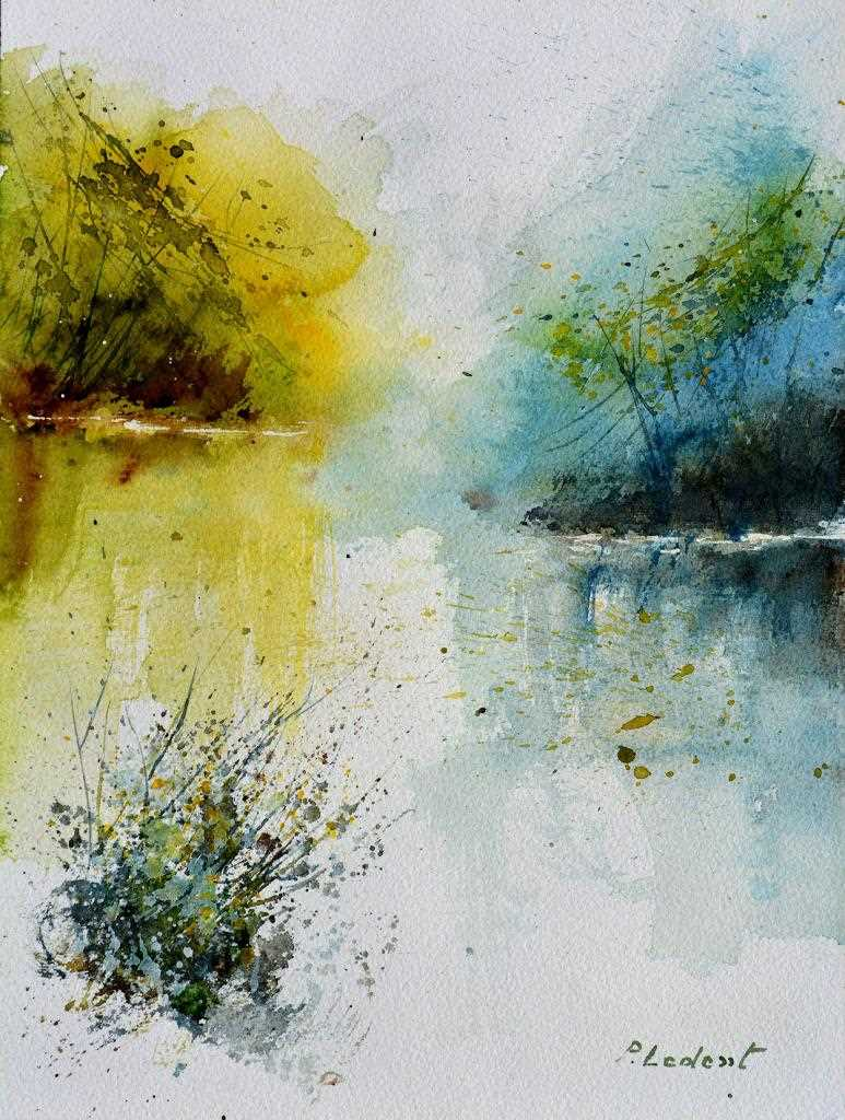 "Peinture ""Watercolor 613001"""